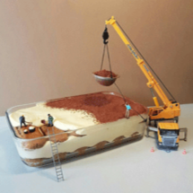 Miniature Worlds With Desserts