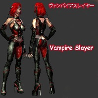Vampire Slayer (Rigged)