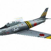 F-86 Sabre Japan AIr Force scheme White Dragon