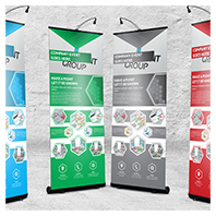 Professional Corporate Hive Roll-Up Banner