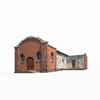 Church Old Building Low Poly