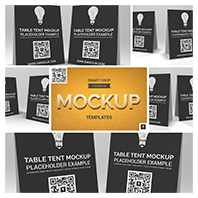 Table Tent Mockup