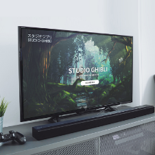STUDIO GHIBLI SMART TV UI DESIGN