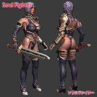 Soul Fighter (Rigged)