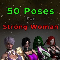 50 Poses for Strong Woman