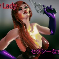 Sexy Lady Comes with Rig For LightWave 3d