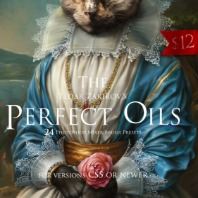 The Perfect Oils. 24 Mixer Brushes for PS CS5+