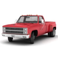 GENERIC DUALLY PICKUP TRUCK 2