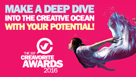 Creavorite Awards Promotion